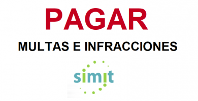 pagar multas infracciones colombia simit